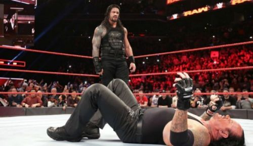 Let's not count this as an Undertaker's match at WrestleMania