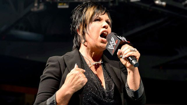Vickie in the WWE