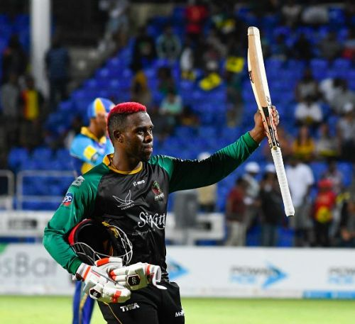 St Kitts & Nevis Patriots v Barbados Tridents - 2018 Hero Caribbean Premier League (CPL) Tournament