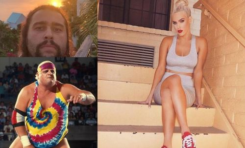 Rusev and Lana shared a similar wondrous path to the top of WWE