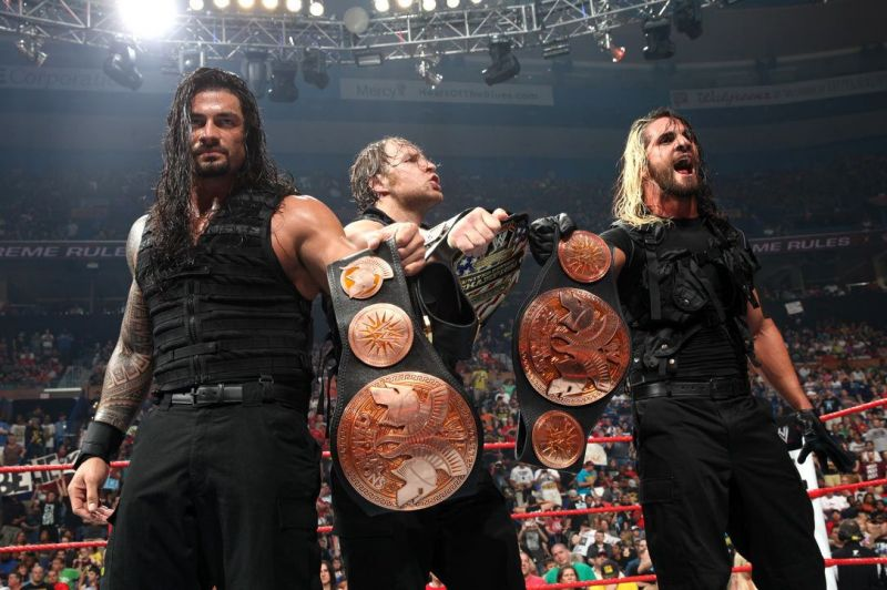 Could the Shield win all of the gold on Raw?