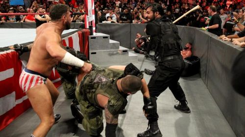 The dogs of war need to be kept away from the ringside area