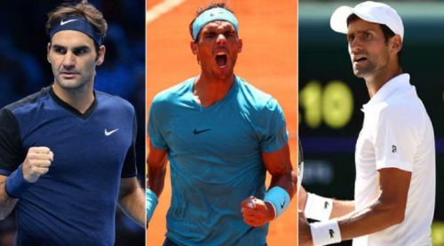 51 Grand Slam titles between the three of them