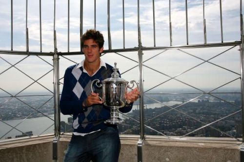 US Open Champion Juan Martin Del Potro Tours New York City