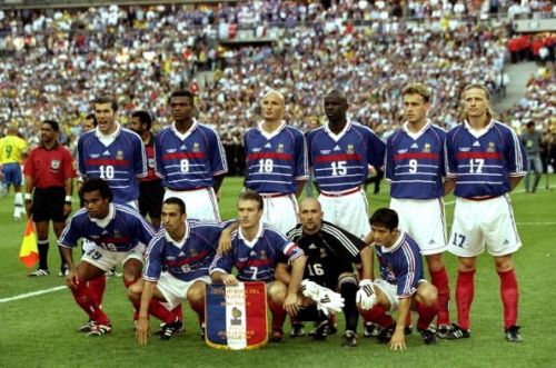 French team group