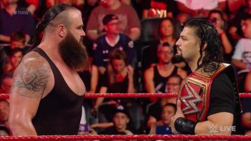 Braun Strowman heel turn.