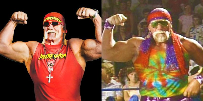 Hogan (left) was inspired by Graham (right) to get into the wrestling business