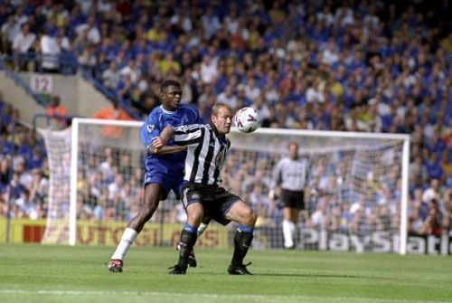 Marcel Desailly and Alan Shearer