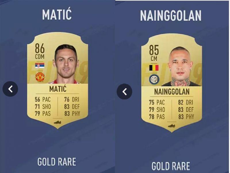 Matic vs Nainggolan