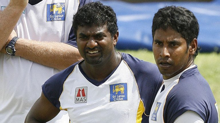 Muralitharan and Vaas made surprise entries to this list