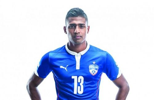 Rino Anto is a fan favorite at Bengaluru FC.