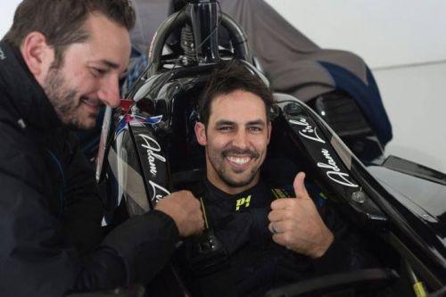 Fierce Aussie pacer Mitch Johnson will make his Formula racing debutEnter caption