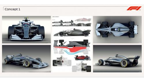 Concept 1 Image credits: F1 official