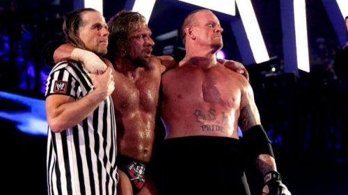 Triple H, The Undertaker & Shawn Michaels could make it a trifecta leading up to WWE Super Show-Down...