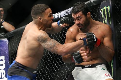 UFC Fight Night 137 will be headlined by a fight between Eryk Anders (11-1) and Thiago Santos (18-6)