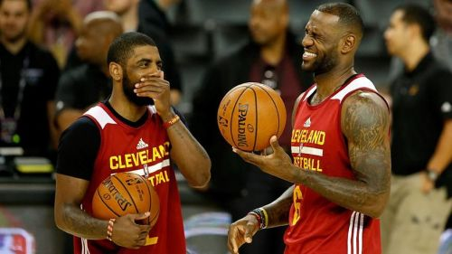 Image result for lebron and kyrie