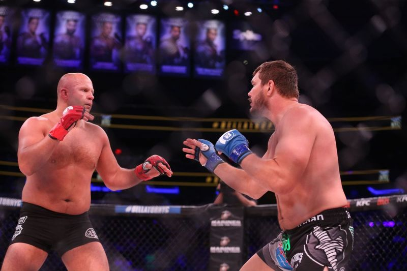 Fedor debuted in Bellator against Matt Mitrione