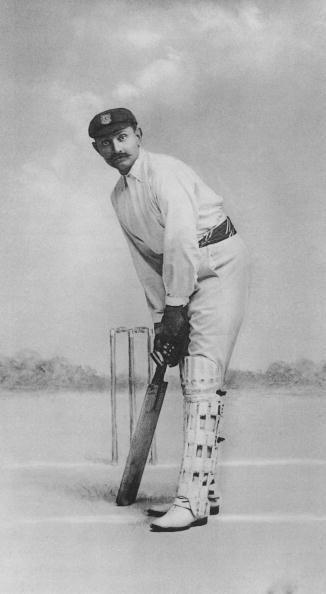 Ranji's batting stance