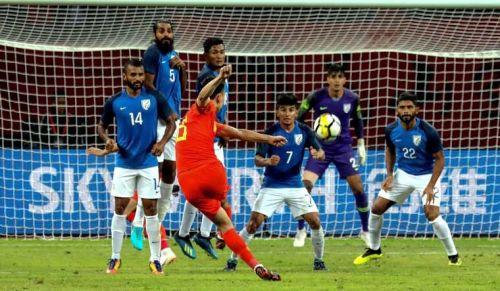 China 0-0 India