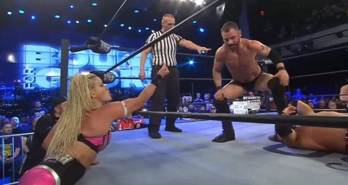 A Double may have wrestled his final match with Impact Wrestling at Bound for Glory