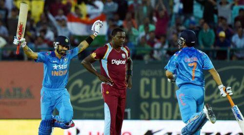 * India v WI ODI Stats