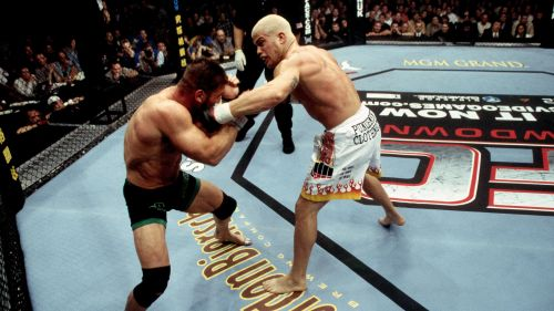 UFC 40's fight between Tito Ortiz and Ken Shamrock arguably saved the promotion