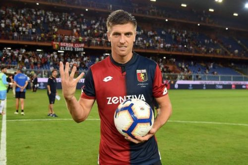 Krzysztof Piatek is outscoring both Ronaldo and Messi at the moment