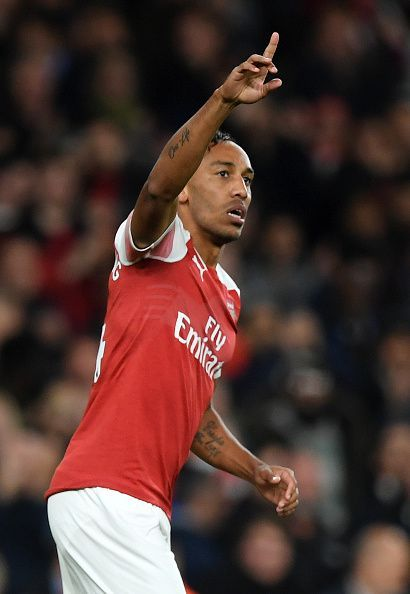 Aubameyang has been in inspirational form since signing for Arsenal