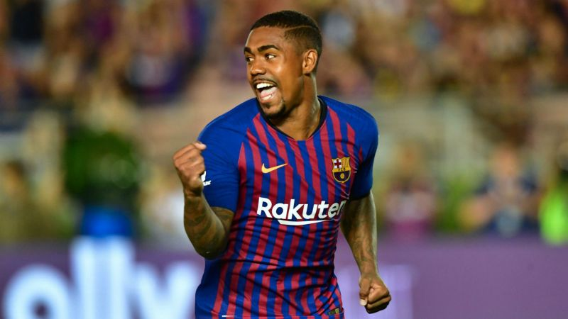 Malcom was expected to join Roma before he signed for Barcelona