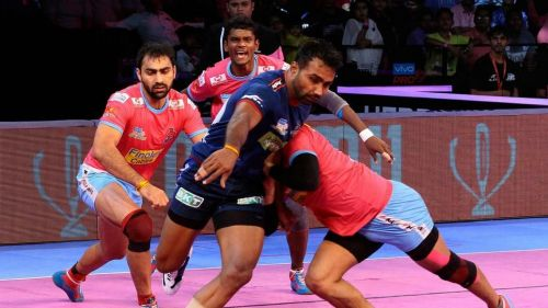 Monu Goyat finally found some form against U Mumba