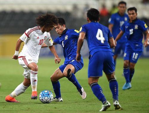 UAE's Mohamed Abdulrahman was a bright spot in their friendly ties against Honduras.