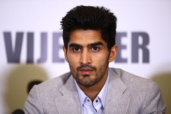Boxing Press Conference with Vijender Singh