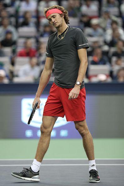 Sascha Zverev was blown away by the power and quality of Novak Djokovic