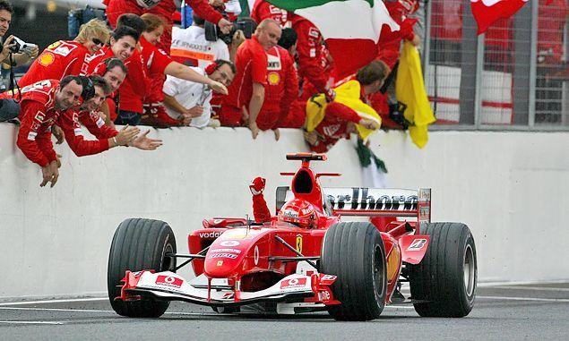 Ferrari's last victory at Suzuka