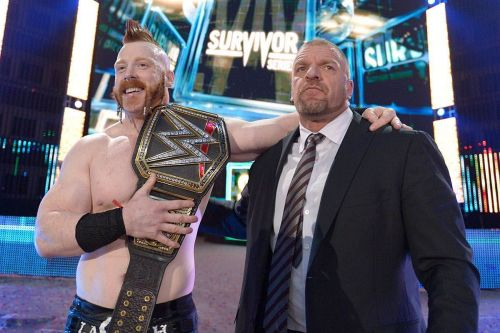 Triple H and Sheamus are the best of freinds in real life