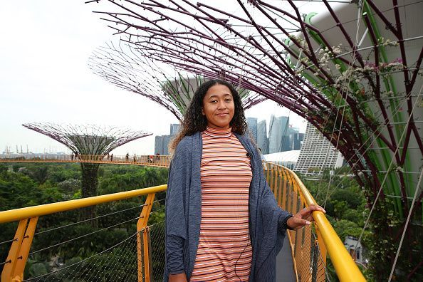 US Open champion Naomi Osaka enjoys herself in Singapore ahead of the WTA Finals
