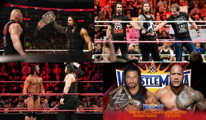 Ever wondered how Roman Reigns would have been booked if he hadn