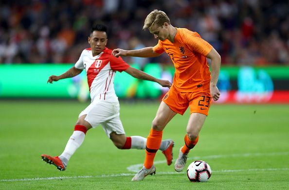 Where will Frenkie ultimately end up?