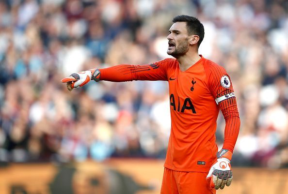 Lloris is in his seventh season with Tottenham