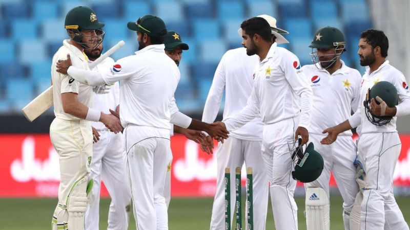The first Test ended disappointingly for Pakistan