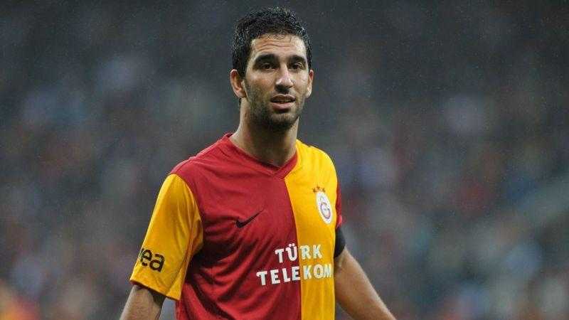 Turan during his spell at Galatasaray