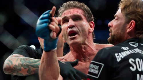 Ken Shamrock: More popular than Royce Gracie