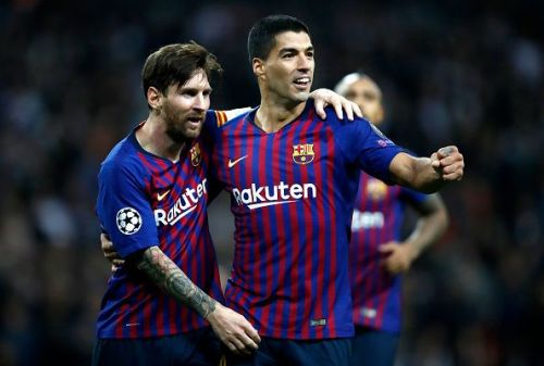 Suarez has a telepathic understanding with Lionel Messi