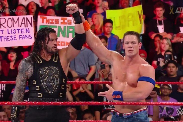It seems Reigns has the Cena stamp of approval