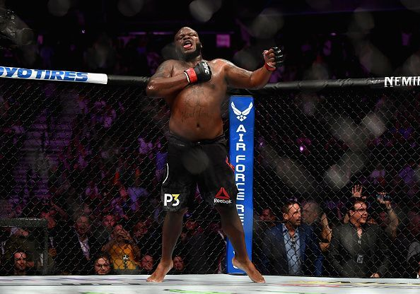 Derrick Lewis will challenge for the UFC Heavyweight Title next month