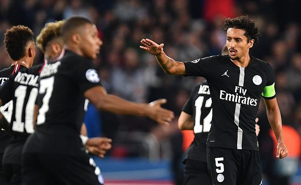 Paris Saint Germain have conceded 6 times in Ligue 1