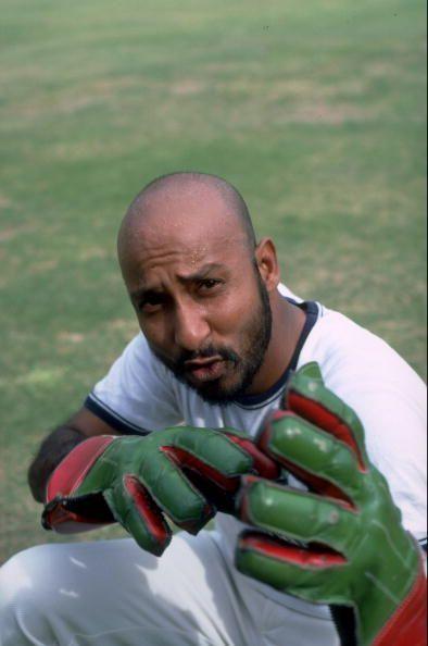 Syed Kirmani was a handy wicket-keeper batsman