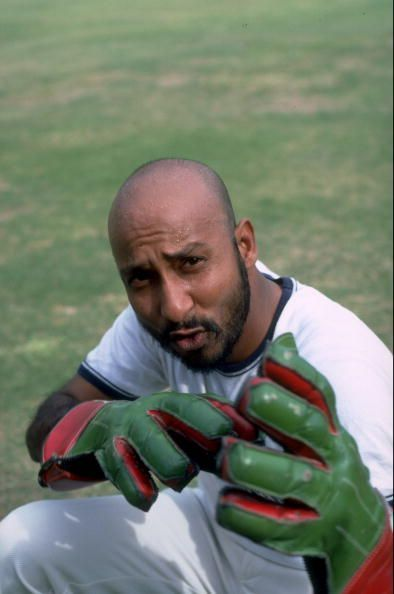 Syed Kirmani was a handy wicket-keeper batsman