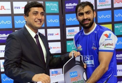 Mohit Chhillar is the third best defender in Pro Kabaddi history.
