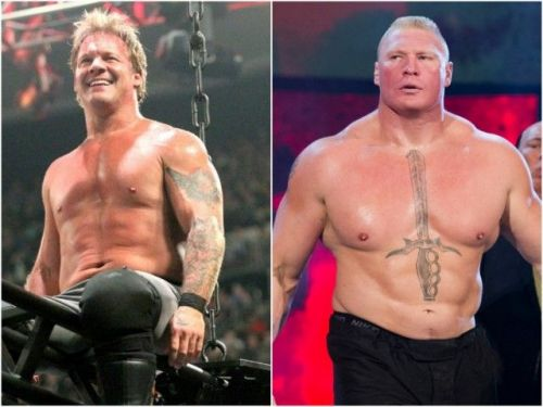 Soon after Lesnar came backstage, Y2J confronted Lesnar toe-to-toe without any hesitation